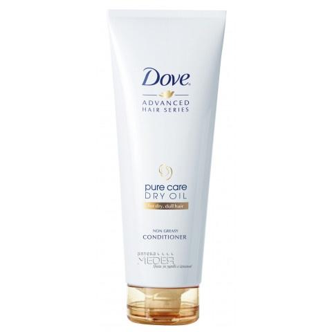 Dove Dvanced Pure Dry Oil Балсам за суха и безжизнена коса 250 мл