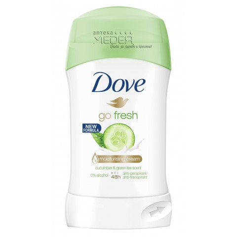 Dove Deo Go Fresh Cucumber & Green Tea Дезодорант стик 40 мл