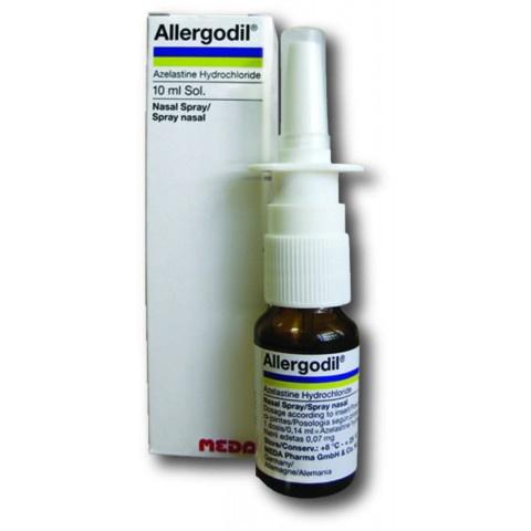 Allergodil (Алергодил) Спрей за нос при алергия, 0,14мг/доза, Меда Фарма