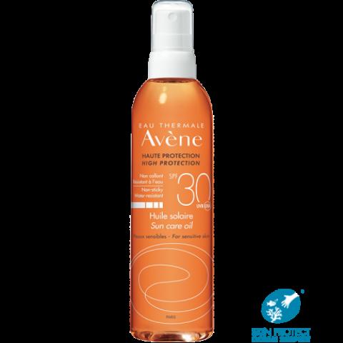 Avene Sun SPF30 слънцезащитно олио за тяло 200мл.