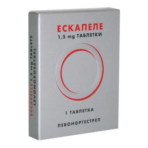 ЕСКАПЕЛ ТБ 1,5 МГ Х 1