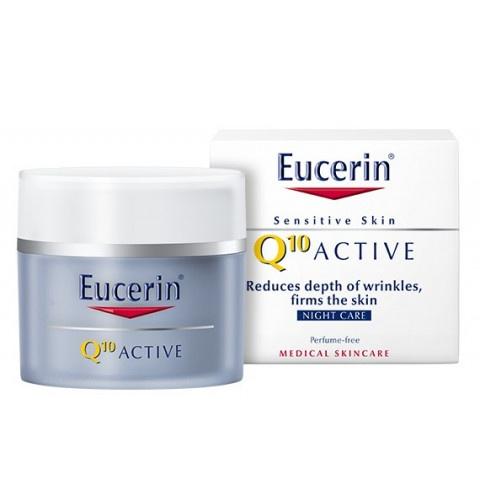 Eucerin Q10 Крем нощен против бръчки 50мл