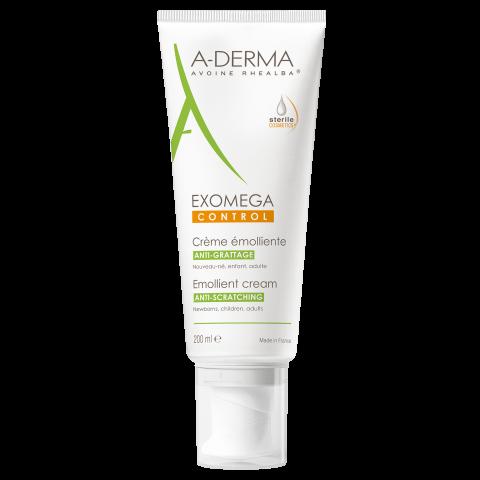 Снимка на A-Derma Exomega Control емолиентен крем за лице и тяло за много суха и атопична кожа 200 мл. за 35.39лв. от Аптека Медея