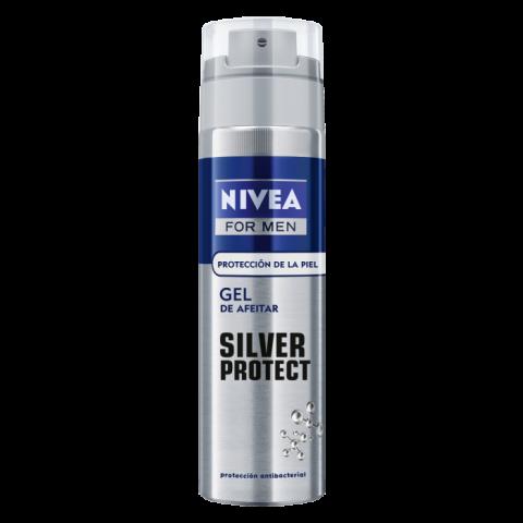 Nivea Men Silver Гел за бръснене 200мл