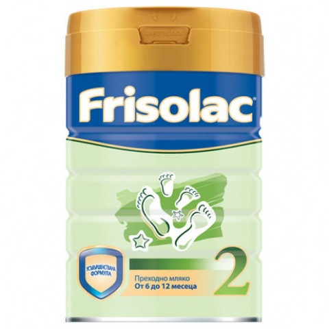 Снимка на Friso  2 преходно мляко за кърмачета и деца от 6-12м х 400г за 14.49лв. от Аптека Медея