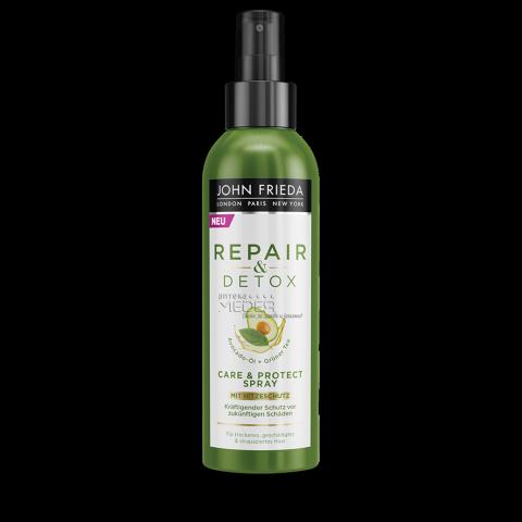 John Frieda Detox & Repair Детоксикиращ спрей-балсам за коса за грижа и защита 200 мл