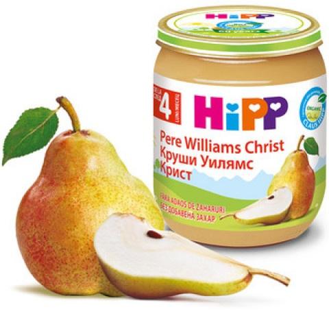 HIPP ПЮРЕ КРУШИ УИЛЯМ КРИСТ 125ГР