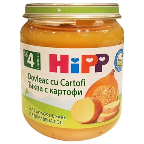 HIPP ПЮРЕ ТИКВА С КАРТОФИ 125ГР