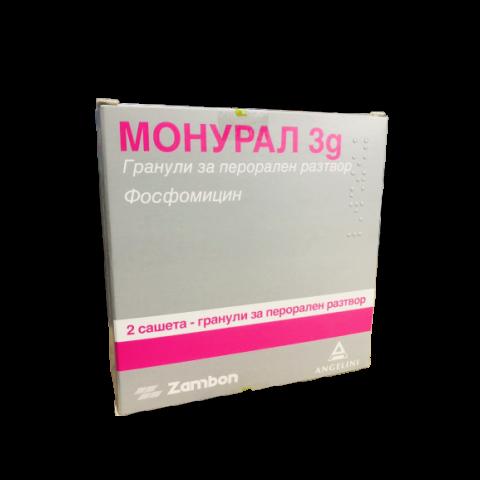 Снимка на МОНУРАЛ САШЕ 3Г Х 2 ЦСЦ за 15.49лв. от Аптека Медея