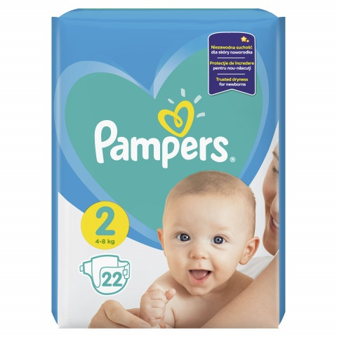PAMPERS RP №2 4-8 кг Х 22