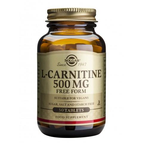 Снимка на Л-Карнитин 500мг х 30 капсули, Solgar за 66.49лв. от Аптека Медея