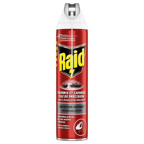 Raid аерозол-пяна срещу пълзящи насекоми 400мл.