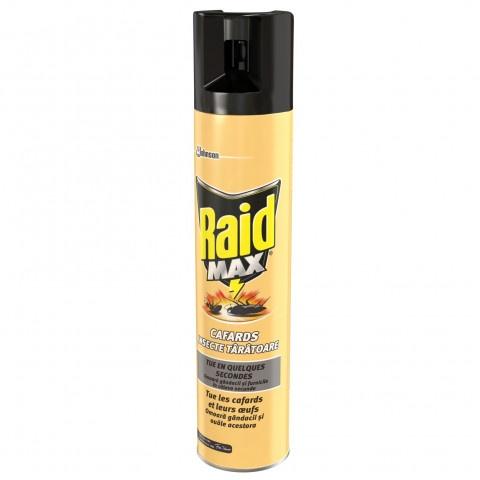 Raid Max спрей-аерозол срещу пълзящи насекоми 3в1 400мл.