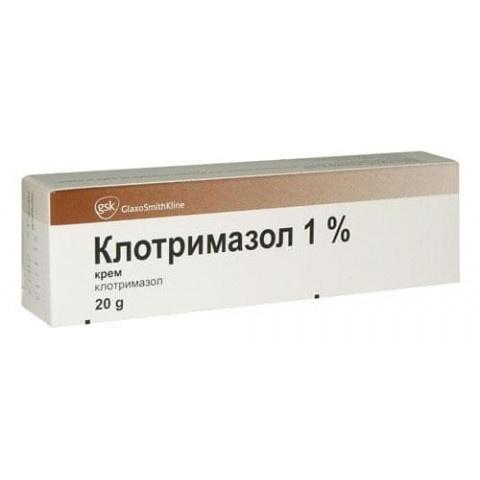 Снимка на КЛОТРИМАЗОЛ КРЕМ 1% 20 Г за 2.19лв. от Аптека Медея
