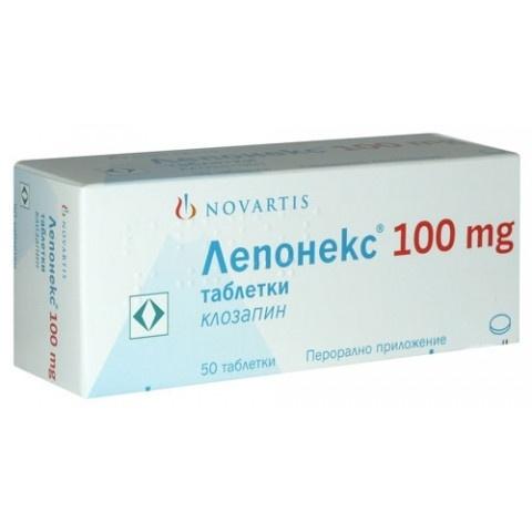 ЛЕПОНЕКС ТБ 100МГ Х 50