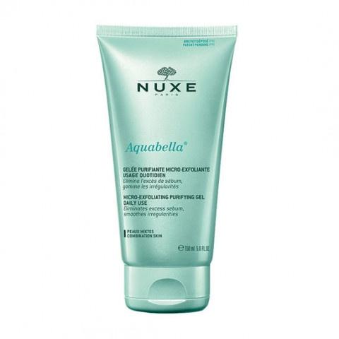 Nuxe Aquabella Микро-ексфолиращ почистващ гел 150мл