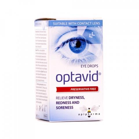 Снимка на ОПТАВИД КАПКИ ЗА ОЧИ 10МЛ за 20.39лв. от Аптека Медея