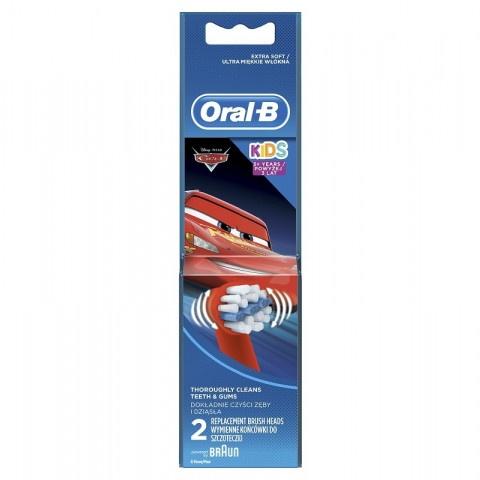 Oral-B Резервен накрайник за детска електрическа четка за зъби х 2 броя