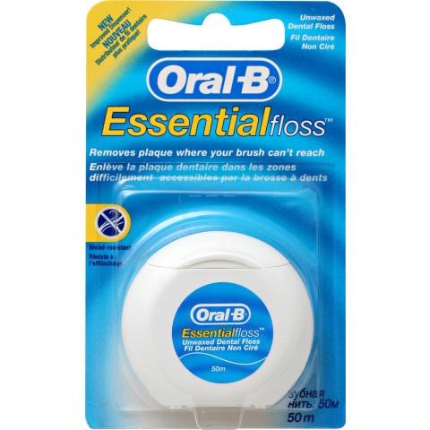 Oral-B Essential Floss конец заа зъби без восък х 50 метра