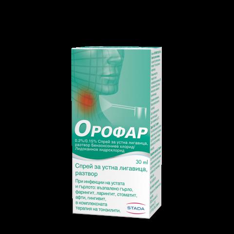 Снимка на Орофар Спрей за устна лигавица 30мл за 10.29лв. от Аптека Медея