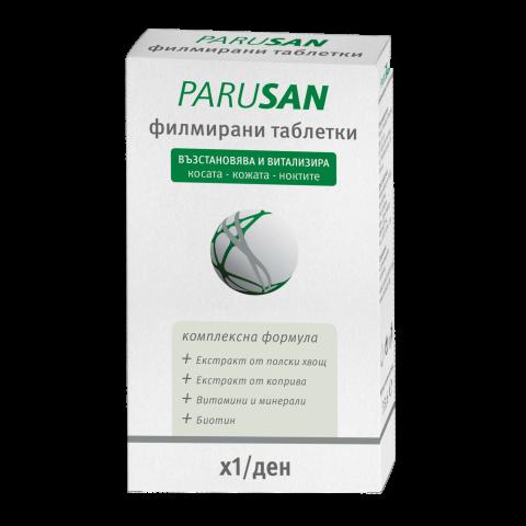 Снимка на Парусан, за коса, кожа и нокти х 42 таблетки за 8.24лв. от Аптека Медея