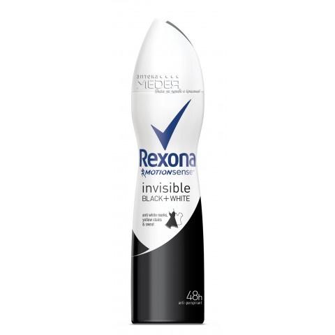 Rexona Invisible Black & White Дезодорант спрей 150мл
