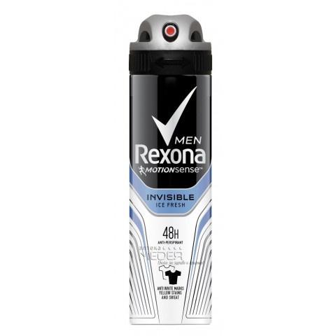 Rexona Men Invisible Ice Fresh Дезодорант спрей 150мл