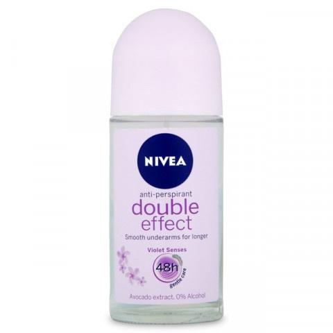Nivea Double Effect Дезодорант рол-он 50мл
