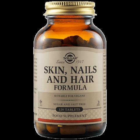 Skin, Nails & Hair Formula - формула за коса, кожа и нокти, таблетки х 120, Solgar