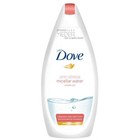 Dove Anti Stress Micellar Water Душ гел за тяло 250 мл