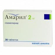 АМАРИЛ ТБ 2МГ Х 30