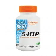 5-Хидрокси Триптофан за нормален сън, спокойствие и релакс, 100мг, 60 капсули, Doctor's Best