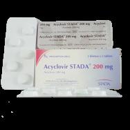 АЦИКЛОВИР АЛ 200МГ Х 25