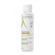 A-Derma Exomega Control емолиентен пенещ се почистващ гел за лице и тяло 500 мл.