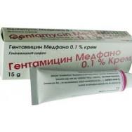 ГЕНТАМИЦИН КРЕМ 0,1% 15ГР