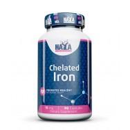 Chelated Iron (Хелатирано желязо) 15мг х 90, Haya labs