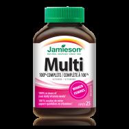 Multi 100% Complete мултивитамини за жени, таблетки х 25, Jamieson