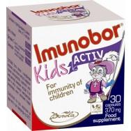 Imunobor (Имунобор) Кидс Актив, за силен детски имунитет, 30капсули, Borola