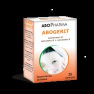 АБОГЕРИТ КАПС (А+Е) Х 25 АБОФАРМА | ABOPHARMA