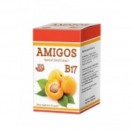 Amigos (Амигос) B17 Хранителна добавка с екстракт от кайсиеви семена, 60 капсули