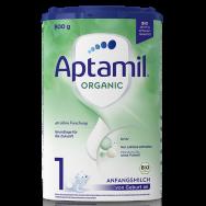 Aptamil 1 Organic адаптирано мляко за деца от 0 до 6 месеца 800г.