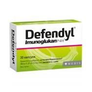 Defendyl (Дефендил) Хранителна добавка с естествен имуноглюкан, витамин C и цинк, без глутен, 30 капсули