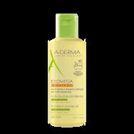 A-Derma Exomega Control емолиентено пенещо душ олио за лице и тяло 200 мл.