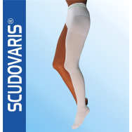 Skudotex чорап бял №2 десен