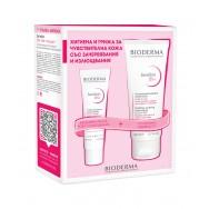 Biodema Sensibio DS+ Измиващ гел за лице при сквами и зачервявания 200мл + Sensibio DS+ Крем при сквами и зачервявания 40мл
