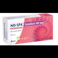 No-Spa (Но-Шпа) Комфорт при болки и спазми в корема, 40мг, 24 таблетки, Sanofi