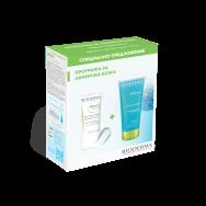 Bioderma Sebium Global Крем за лице при акнеична кожа крем 30 мл + почистващ гел 100 мл подарък